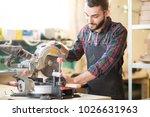 young handsome caucasian... | Shutterstock . vector #1026631963