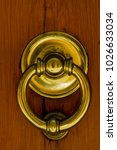 detail of the vintage door... | Shutterstock . vector #1026633034