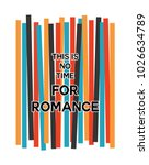 romance writing typography  tee ... | Shutterstock .eps vector #1026634789