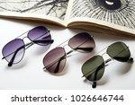 sunglasses eyewear photography | Shutterstock . vector #1026646744