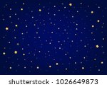 night sky and stars | Shutterstock . vector #1026649873