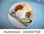 popular malaysian food called...   Shutterstock . vector #1026667528