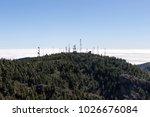 telecommunication antenna tower ... | Shutterstock . vector #1026676084