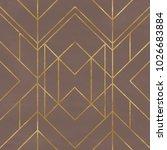 seamless geometric pattern on... | Shutterstock . vector #1026683884