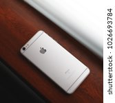 iphone 6 plus  new york  usa  ... | Shutterstock . vector #1026693784