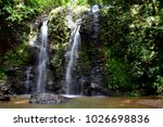 Waterfall In The Jungle On Koh...