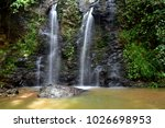 Waterfall In The Forest On Koh...