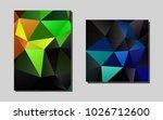 dark multicolor  rainbowvector...