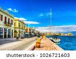 chios island  greece   march 15 ... | Shutterstock . vector #1026721603