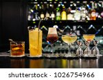 five kinds of old fashion... | Shutterstock . vector #1026754966