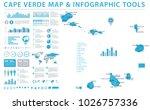 cape verde map   detailed info... | Shutterstock .eps vector #1026757336