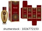 packaging design  label on...   Shutterstock .eps vector #1026772153