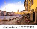 piazza san giacomo in udine... | Shutterstock . vector #1026777478