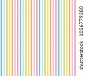 Rainbow Stripes Seamless...