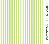 Green White Striped Fabric...