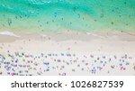 aerial shooting of phuket beach ... | Shutterstock . vector #1026827539