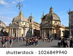rome  italy   april 21  2014.... | Shutterstock . vector #1026849940