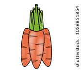 carrots vegetable icon image | Shutterstock .eps vector #1026851854