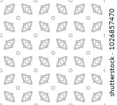 seamless vector pattern in... | Shutterstock .eps vector #1026857470