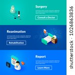 surgery reanimation and report... | Shutterstock .eps vector #1026863836