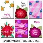 international women's day... | Shutterstock .eps vector #1026872458