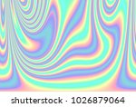abstract holographic background ... | Shutterstock . vector #1026879064