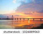 Sunset Over The Storstroem ...