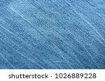 blue blue white denim fabric... | Shutterstock . vector #1026889228