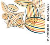 falling geometric figures.... | Shutterstock .eps vector #1026893398