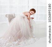 portrait of a beautiful girl in ...   Shutterstock . vector #1026895180