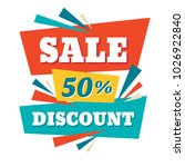 sale   abstract concept banner... | Shutterstock .eps vector #1026922840
