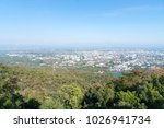distant view chiang mai city... | Shutterstock . vector #1026941734