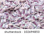 money background (500 euro version) - stock photo