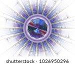 fractal radiation series.... | Shutterstock . vector #1026950296