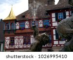 view of the detail of the old... | Shutterstock . vector #1026995410