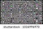 glitch background. computer... | Shutterstock . vector #1026996970