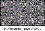 glitch background. computer... | Shutterstock . vector #1026996970