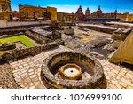 mexico. the city of mexico ... | Shutterstock . vector #1026999100