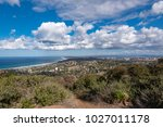 skyline of san diego... | Shutterstock . vector #1027011178