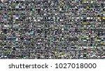 glitch background. computer... | Shutterstock . vector #1027018000
