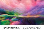 inner world series. composition ... | Shutterstock . vector #1027048780