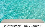 ocean transparent blue water... | Shutterstock . vector #1027050058