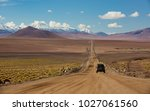 bolivia  andes region with an... | Shutterstock . vector #1027061560
