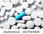pharmacy theme  medicine... | Shutterstock . vector #1027064830