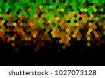 dark green  red vector low poly ... | Shutterstock .eps vector #1027073128