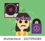 vector art  info graphic ... | Shutterstock .eps vector #1027096384