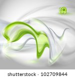 abstract gray waving background ... | Shutterstock .eps vector #102709844