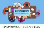 creative business people team...   Shutterstock .eps vector #1027101109