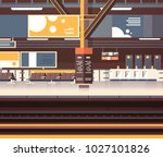 train station interior... | Shutterstock .eps vector #1027101826