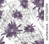 seamless pattern simple design. ... | Shutterstock . vector #1027103254
